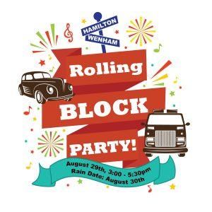 rolling block party logo